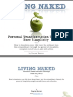 Living Naked- Personal Transformation Through Bare Simplicity