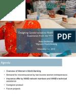 Designing Gender-Sensitive Health Insurance Products