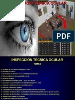 CURSO CRIMINALÍSTICA  INSPECCIÓN TÉCNICA OCULAR