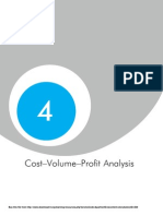 Cost Volume Analysis