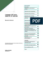 CD_2__Manuals_Francais_STEP 7 - LIST pour S7-300 et S7-400.pdf