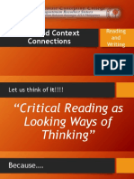 Text and Context Connections