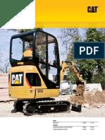 Miniexcavator cat-3014c (1)