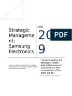 2010031973854_Strategic Management - Samsung Electronics