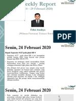 Weekly Report 24-29 Februari 2020 - Febri Awalsya