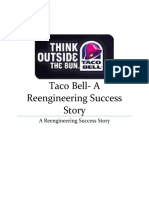 Taco Bell- Re Engineering