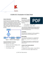 CS256-ECC Data Sheet