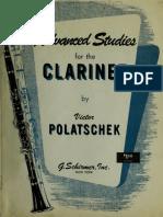 Advanced Studies for clarinet - Victor Polatschek.pdf