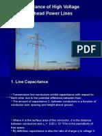 Capacitance of Overhead Power Lines