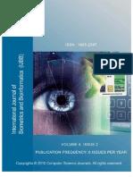 International Journal of Biometrics and Bioinformatics, (IJBB), Volume (4)