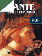 Leonhard Kurt - Dante