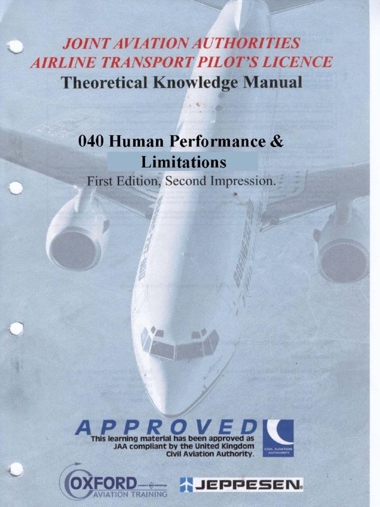 Oaa atpl manual array jaa atpl book 08 oxford aviation jeppesen human performance rh scribd fandeluxe Images