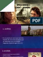 5TO.-EPICA GRIEGA - LA ILIADA