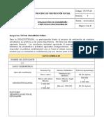 2. FORMATO EVALUACIÓN DE DESEMPEÑO PS FR 26