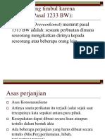Hukum Perikatan 3