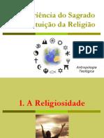 A Experiência do Sagrado e a Instituição da Religião.ppt