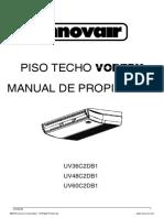 Innovair Vortex - manual del propietario