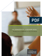Urban Leadership Brochure