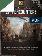 Waterdeep City Encounters v1.2