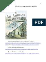 """Addendum # 4 to """"An All-American Murder"""""""
