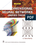 Multidimensional Neural Networks Unified Theory Rama Murthy_NEW AGE_2007