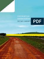 Brian Weatherson - Normative Externalism-Oxford University Press, USA (2019)