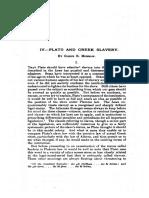 1939 - Glenn Morrow - Plato and greek slavery