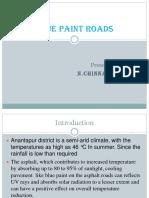 Blue Paint Roads