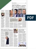 BOLIVIA. ELECCIONES. MESA VOLVERÁ A COMPETIR EN LAS PRESIDENCIALES DE BOLIVIA