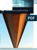 Monomios y polinomios ejercicios