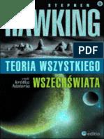 Stephen Hawking - Teoria wszystkiego, czyli krótka historia wszechświata