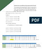 Taller de Programacion Lineal