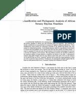Clasificación y análisis filogenético de los ritmos ternarios de africa.doc