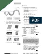 Steps in English 1 Unit 2 Test B