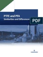 PFA Vs PTFE in instrumentation