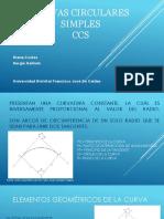CURVAS CIRCULARES SIMPLES +EJERCICIO