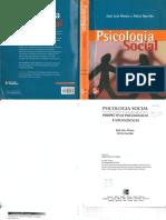 ÁLVARO, J. L.; GARRIDO, A.; Psicologia Social _ perspectivas psicológicas e sociológicas