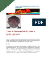 Noticias Barrio Orlidea
