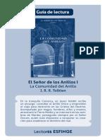 Guía de lectura. El Señor de los Anillos I La Comunidad del Anillo J. R. R. Tolkien - PDF Descargar libre