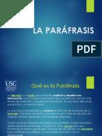 La-parafrasis-Power-Point