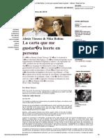 Tioseco, A. - La carta que me gustaría leerte en persona (Mabuse. Revista de Cine)