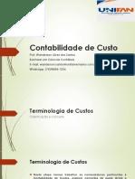 Ciências Contábeis - Aula 1 - Terminologias dos Custos.pdf