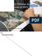 Transport Short Term Milestones