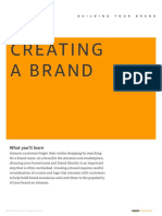 Building Your Brand Creating a Brand
