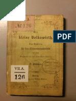 Hübner, Otto (1852) - Der kleine Volkswirth