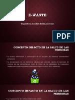 E-Waste - Residuo electronico