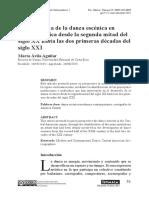 Un panorama de la danza escénica en Centroamérica desde la segunda mitad del siglo XX hasta las dos primeras épocas del siglo XXI