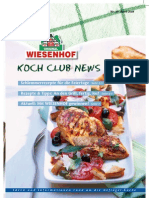 Wiesenhof Kochclub Nr. 29 | April 2008