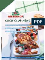 Wiesenhof Kochclub Nr. 29 | April 2008