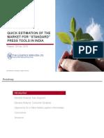 271110 C SS Standard Press Tools Market Evaluation V9